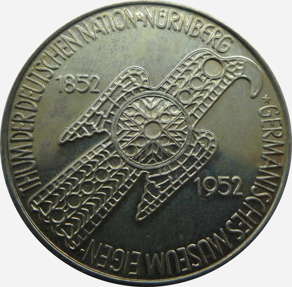 J. 388 - 5 DM, Germanisches Museum, 1952 D, PP