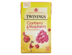 Twinings Infusions Cranberry & Raspberry