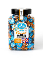 Walker's Nonsuch Salted Caramel Toffees Jar 1.25kg