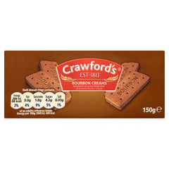 Crawford's Bourbon Creams Biscuits 150g