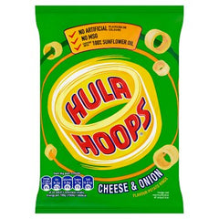 Hula Hoops Cheese & Onion Best Before : 05.10.2019