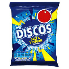 Discos Salt & Vinegar. Best Before : 23.11.2019