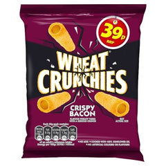 Wheat Crunchies Crispy Bacon Best Before : 20.06.2020