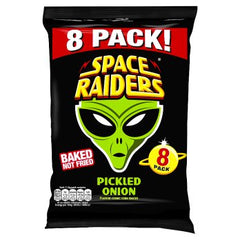 Space Raiders Pickled Onion 8pk (8 x 11.8g)