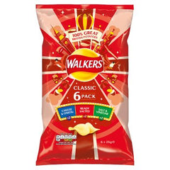 Walkers 6 Pack Classic Best Before : 16/11/2019