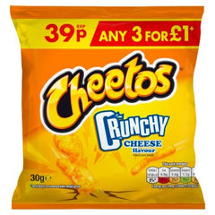 Cheetos Crunchies Cheese Flavour 30g