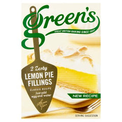 Green's Zesty Lemon Pie Fillings 2 x 70g