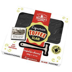 Walker's Nonsuch Liquorice Traditional Slab 400g
