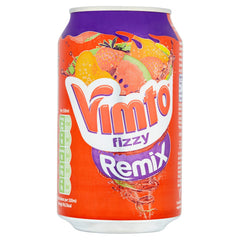 Vimto Fizzy Remix Watermelon, Strawberry & Peach 330ml