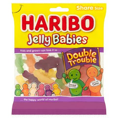 Haribo Jelly Babies Double Trouble Bag