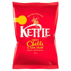 Kettle Chips Sweet Chilli & Sour Cream Best Before : 19.10.2019
