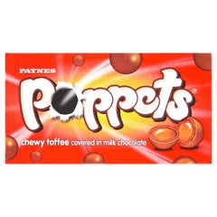 Paynes Poppets Chewy Toffee Carton 39g