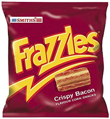 Smiths Frazzles 34g Best Before : 16.11.2019