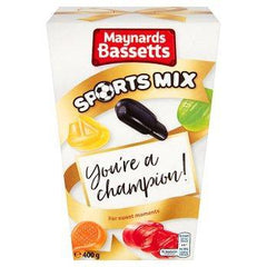 Maynards Bassetts Sports Mix Sweets Carton 400g