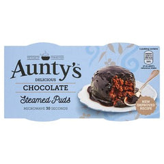Aunty's Delicious Chocolate Steamed Puds 2 x 95g