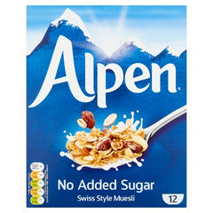 Alpen Muesli No Added Sugar 550g