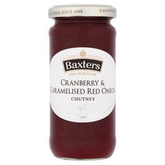 Baxters Cranberry & Caramelised Red Onion Chutney