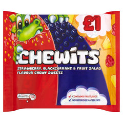 Chewits Fruits 4pk