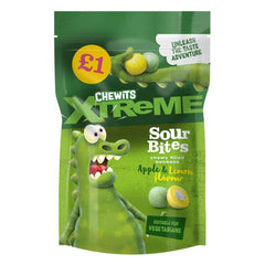 Chewitts Xtreme Sour Apple and Lemon Bites 145g