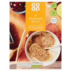Co-op 24 Wholewheat Biscuits