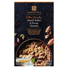 Co-op Irresistible Salted Toffee & Pecan Granola 500g