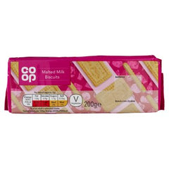 Co-op Malted Milk Biscuits 200g