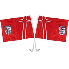 England F.A Car Flag Twin Pack