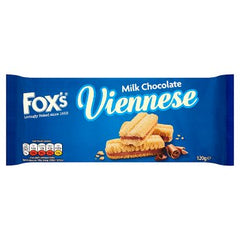 Fox's Milk Chocolate Viennese 120g