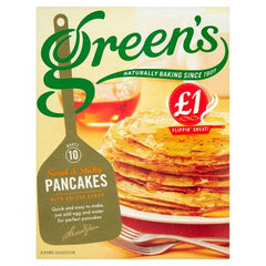 Green's Sweet & Sticky Pancakes with Golden Syrup