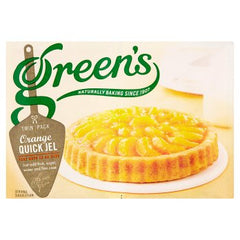 Green's Quick Jel Orange Twin Pack 70g