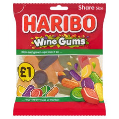 Haribo Wine Gums Bag 160g