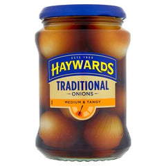 Haywards Traditional Onions Medium & Tangy 400g
