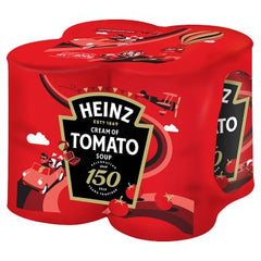 Heinz Cream of Tomato Soup 4 x 400g