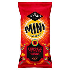 Jacob's Mini Cheddars Chipotle Chicken Wings Flavour 6pk 150g