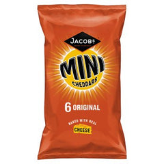 Jacob's Mini Cheddars Original Cheese Snacks 6pk 150g