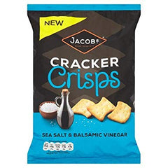 Jacobs Cracker Crisps Sea Salt & Balsamic Vinegar Best Before : 10.03.2019