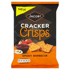 Jacobs Cracker Crisps Smoky Barbecue Best Before : 06.07.2019