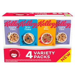 Kelloggs Fibre Variety Best Before 10/01/2020