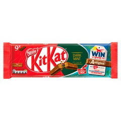 Nestle KitKat 2 Finger Dark Mint Chocolate Biscuit Bar 20.7g 9 Pack