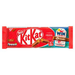 Nestle KitKat 2 Finger Milk Chocolate Biscuit Bar 20.7g 9 Pack