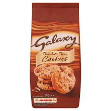 Galaxy Chocolate Chunk Cookies 180g