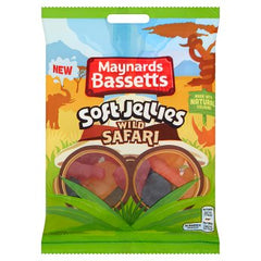 Maynards Bassetts Soft Jellies Wild Safari 160g