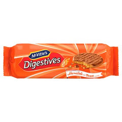 McVitie's Chocolate Digestives Marmalade on Toast Flavour Biscuits 250g