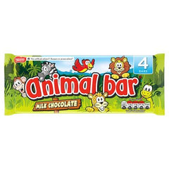 Nestle Animal Bar Milk Chocolate Bar Multipack 19g 4 Pack