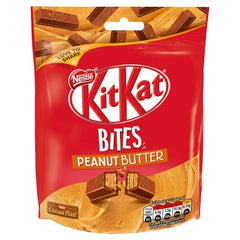 Nestle KitKat Bites Peanut Butter Chocolate Sharing 104g