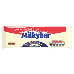 Nestle Milkybar Smarties Block 100g