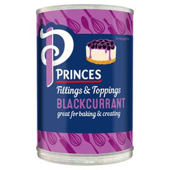 Princes Fillings & Toppings Blackcurrant 410g