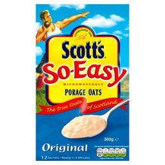 Scott's Porage So Easy Original Porridge Oats 12x30g