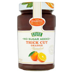 Stute No Sugar Added Thick Cut Orange Marmalade Diabetic 430g