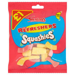Swizzels New Refreshers Squashies Lemon and Strawberry 145g
